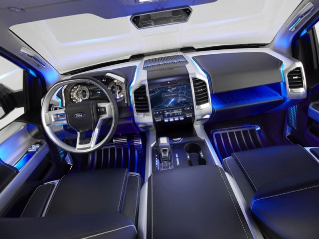 Ford Atlas interior