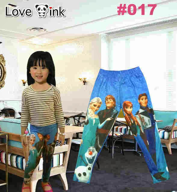 Legging Kids Frozen 017.Love Ink.