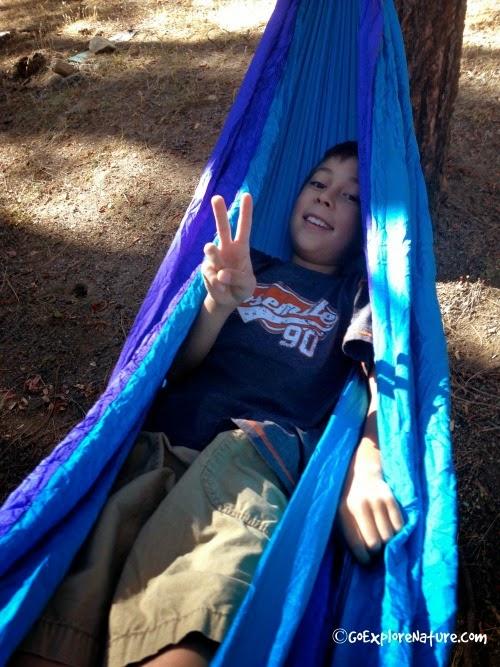 Family Camping: ENO Hammock Review
