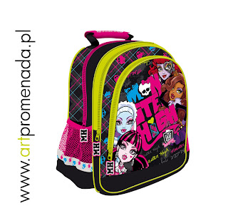 monster high plecak, monster high tornister, monster high plecaki, monster high tornistry sklep