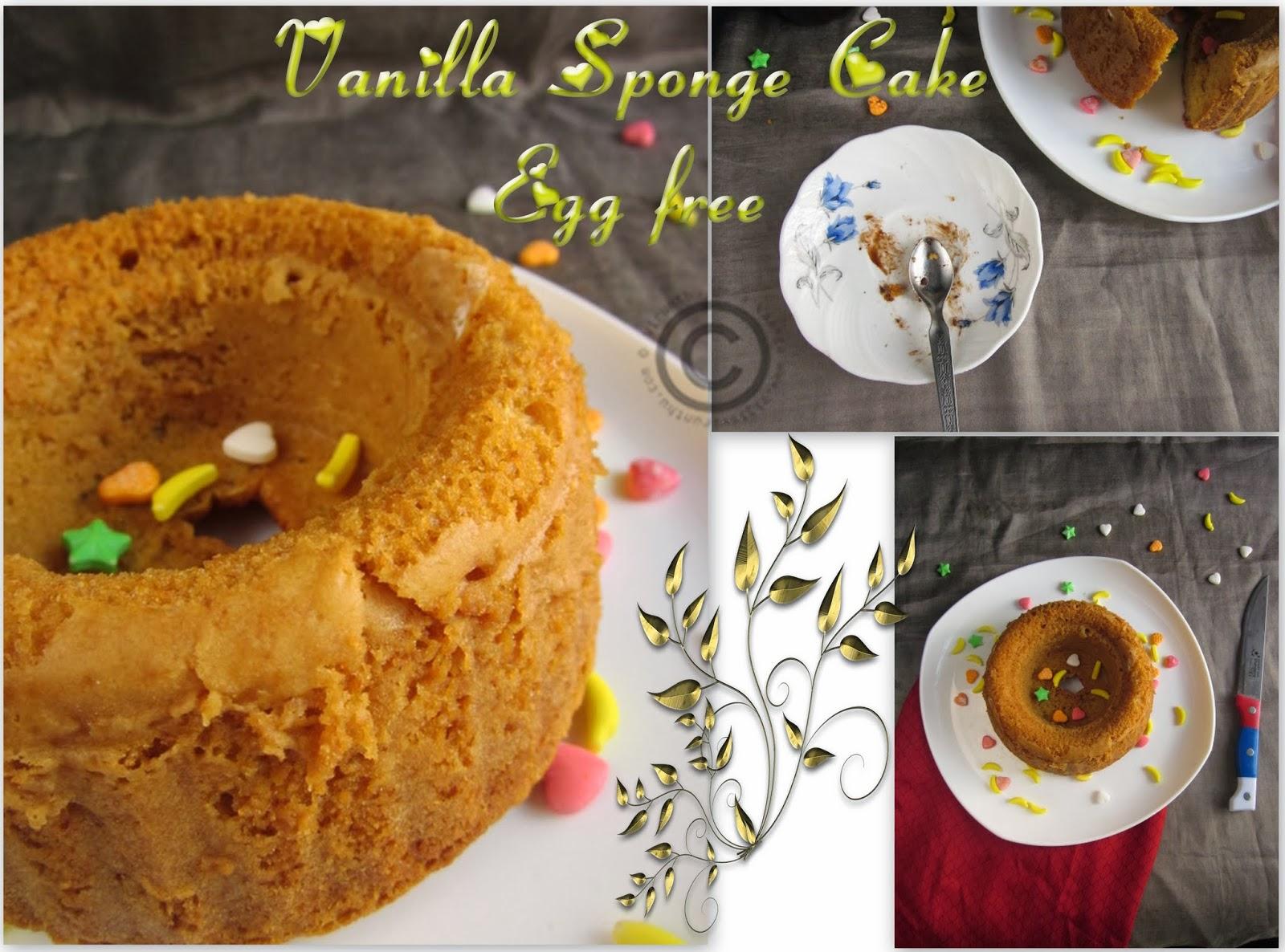 vanilla-sponge-cake
