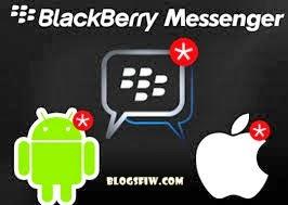 blogsfiw | aplikasi BBM untuk Android dan iPhone ditarik kembali