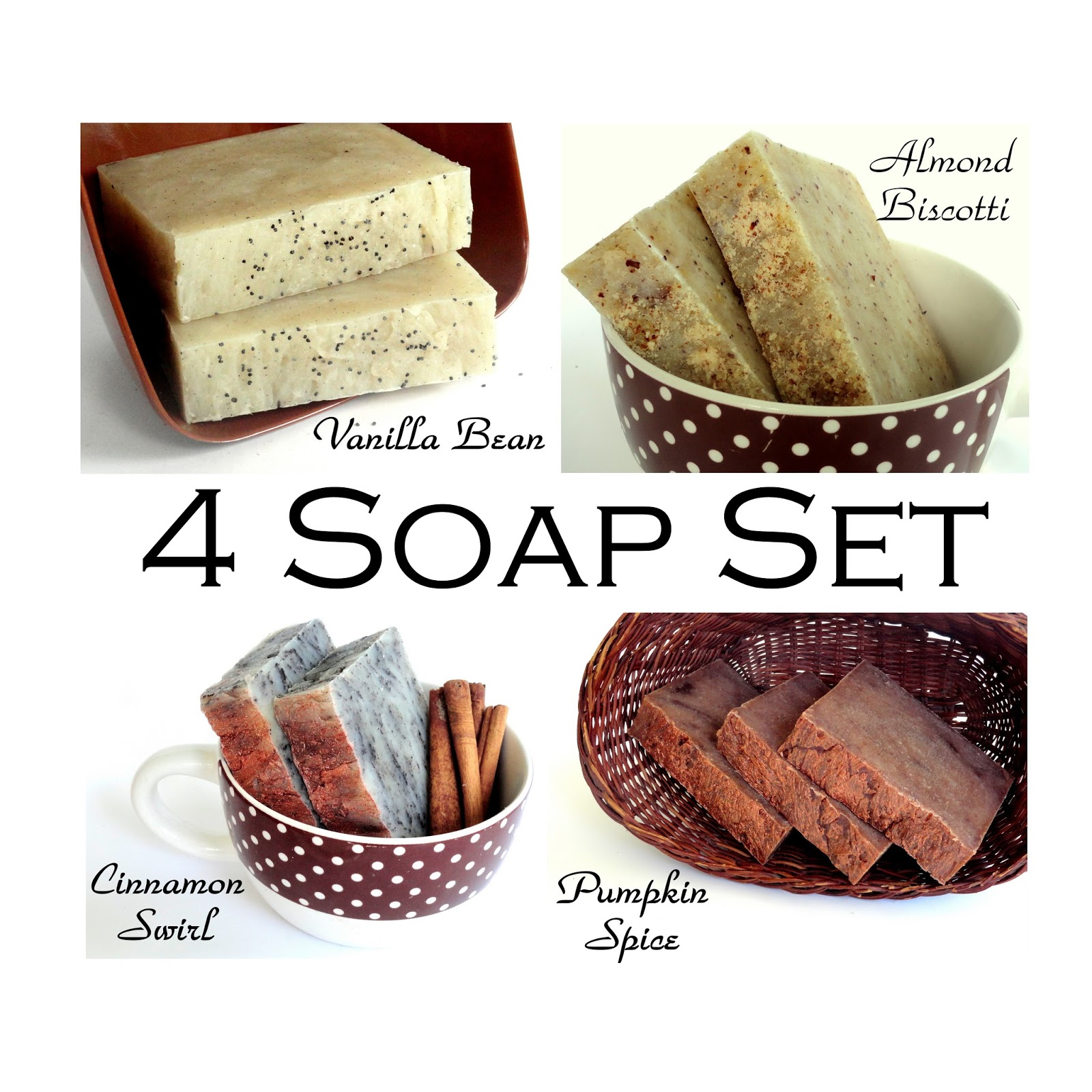 Ginger grey soaps fall scented homemade luxury shea for Fall soap scents