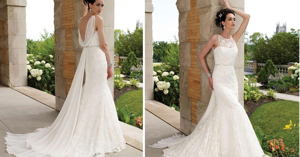 Choose your fashion style trend alert v back lace for No back wedding dress