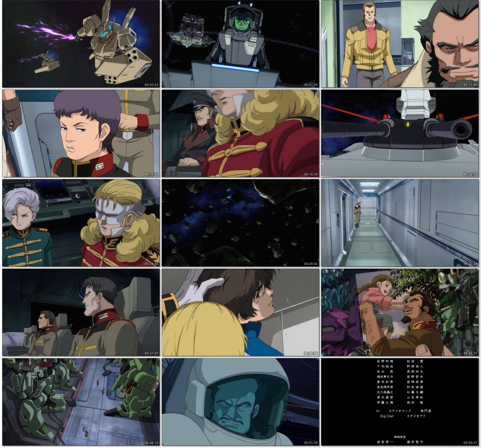 "Download : Mobile Suit Gundam Unicorn - Episode 6 ""Two Worlds, Two"