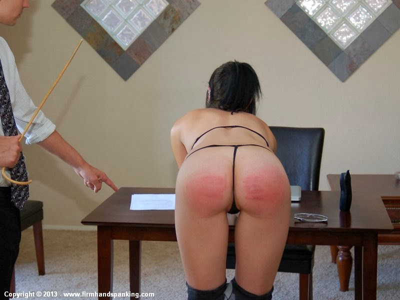 Spank erect bare secretary