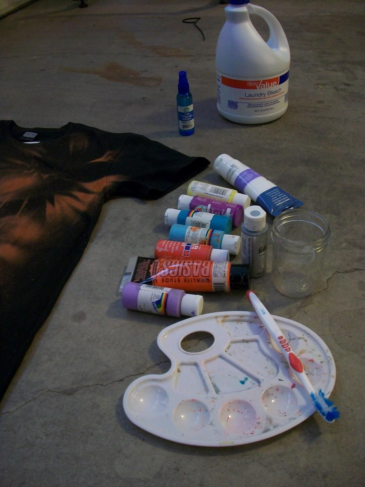 Kaleido Fashion: 8/9/12 DIY Nebula/Galaxy Shirt