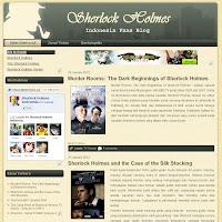 wajah baru blog Sherlock Holmes Indonesia