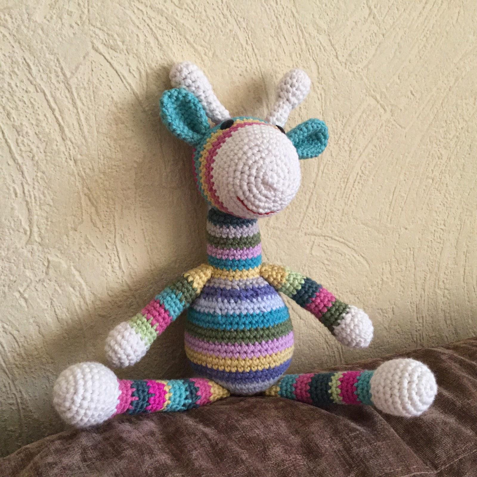Amigurumi Giraffe Anleitung : Annies DIY: Amigurumi Giraffe