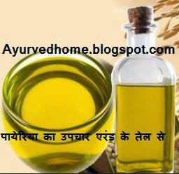 arandi ka tel for pyria , पायेरिया का उपचार एरंड के तेल से