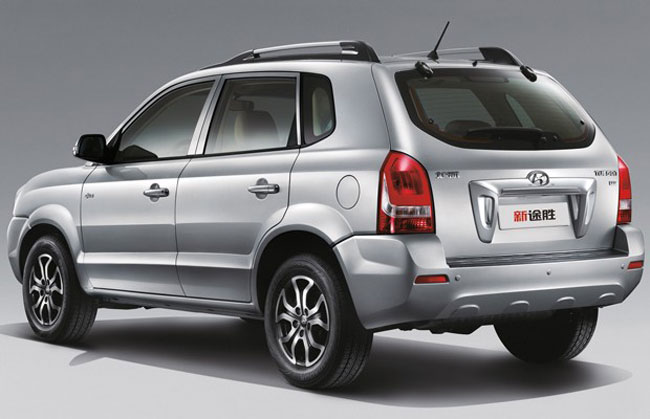 car i Hyundai Tucson 2014