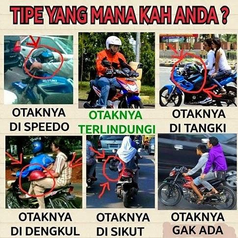 Meme Komik Motor Lucu