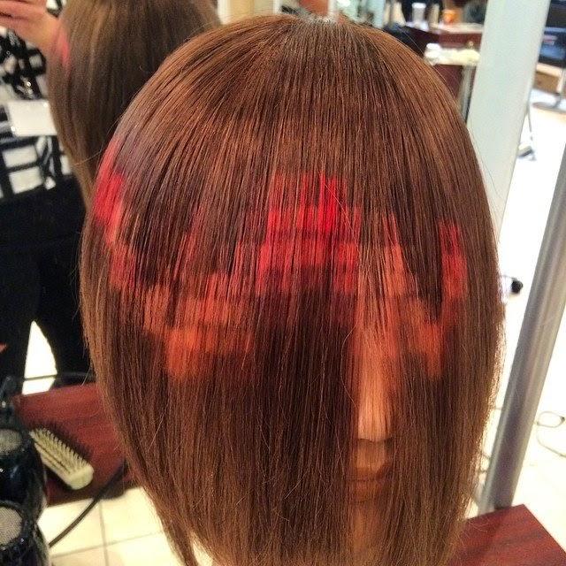 Cabelo pixelizado - cabelo pixel - tendencia 2015
