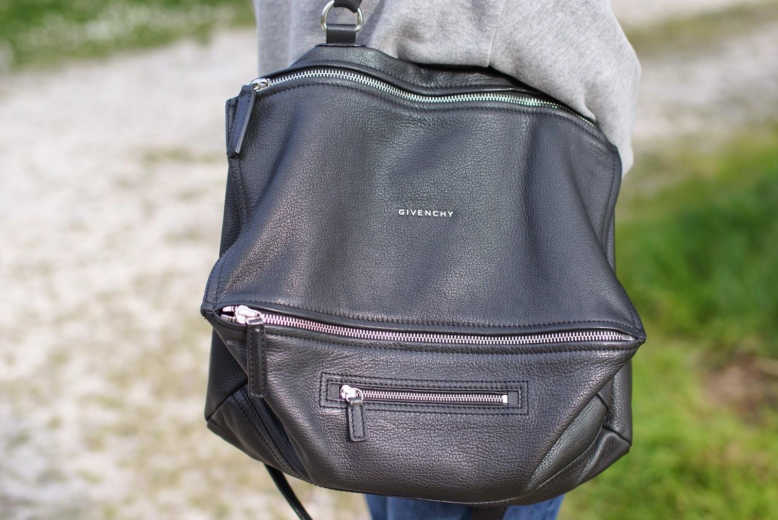 Givenchy Pandora large black bag, Fashion and Cookies, fashion blogger