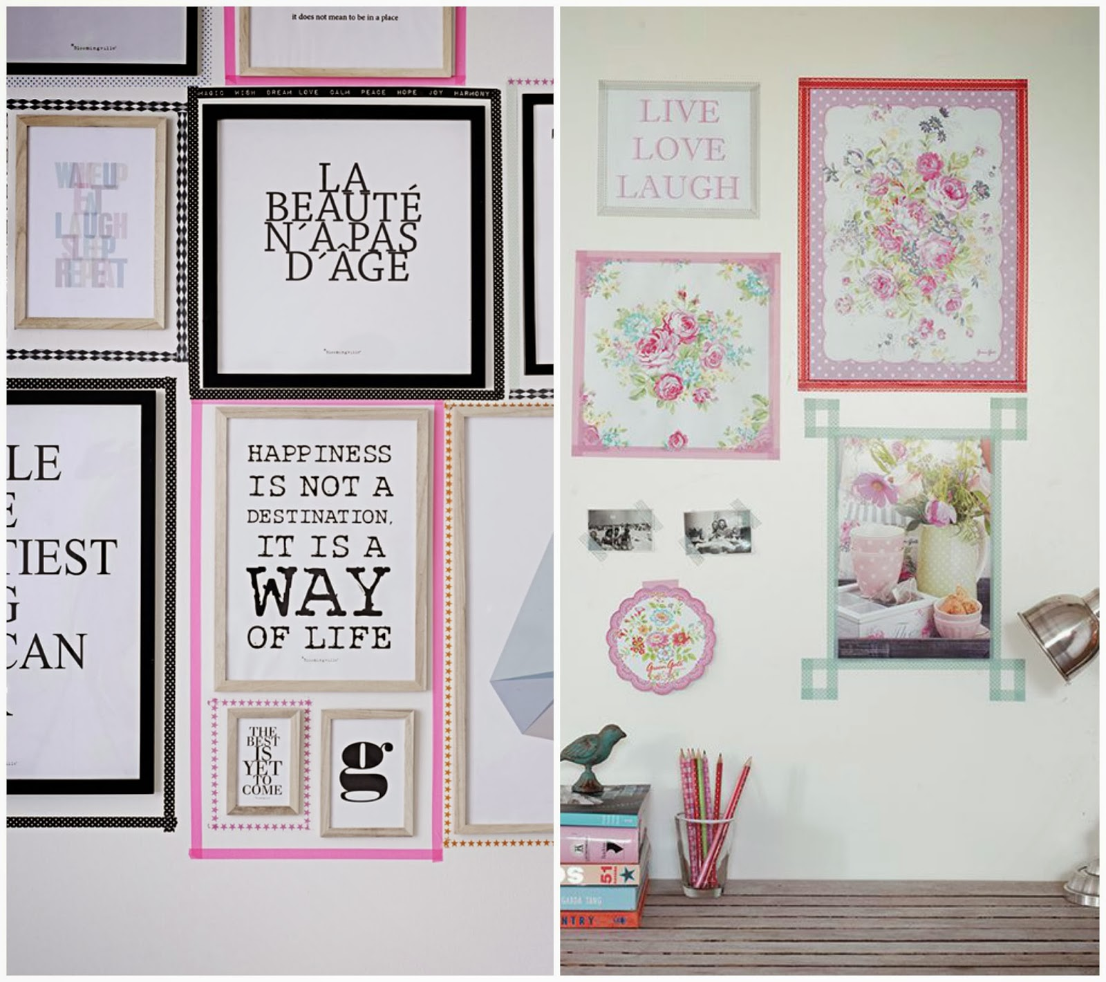 Ideas decoracion washi tape - Ideas para decorar con washi tape ...