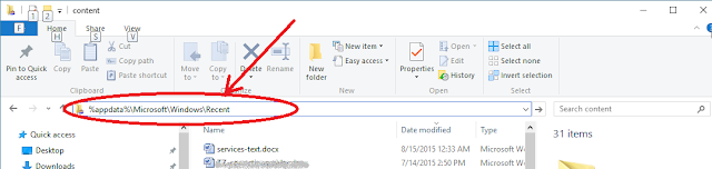 "How to pin ""Recent items"" in Quick Access Windows 10"