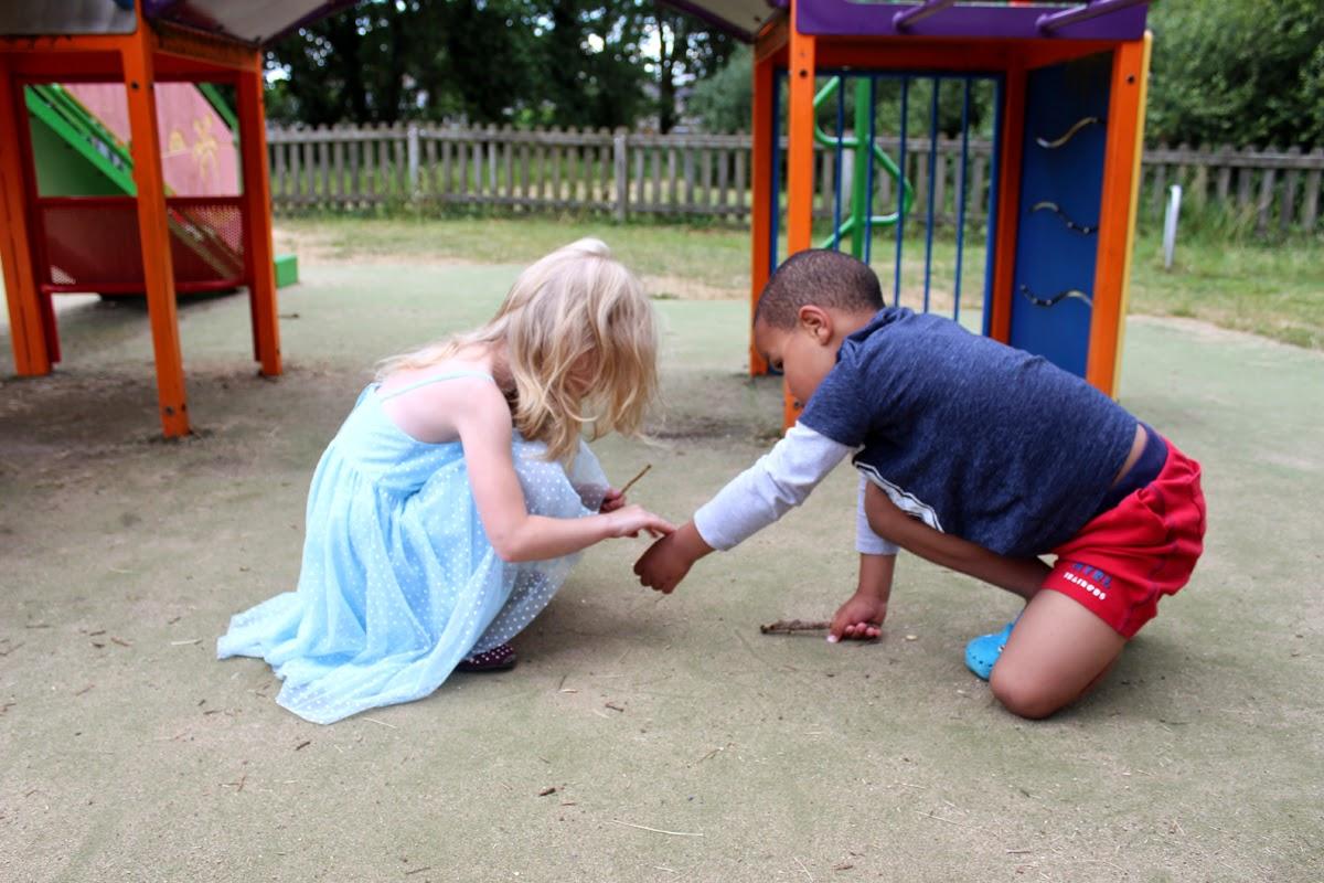 playing kids, playground, family fun