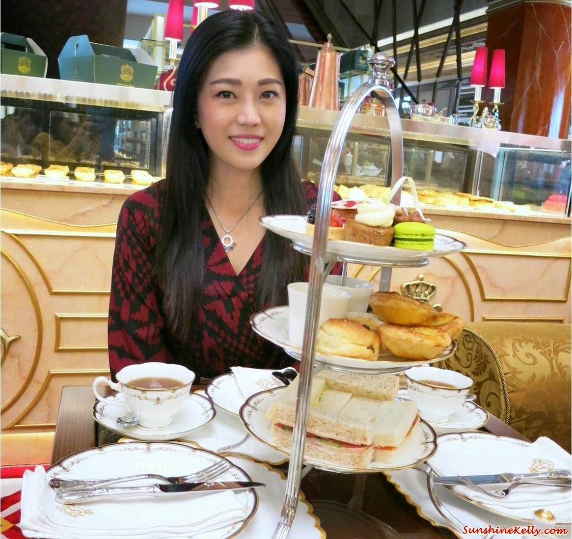 Newens Tea House, Starhill Gallery, Kuala Lumpur, Maids of Honour Tarts, British Tea House, English Tea