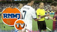Messi niega el saludo a Cristiano Ronaldo en la Supercopa 2012 (Real Madrid vs. FC Barcelona)
