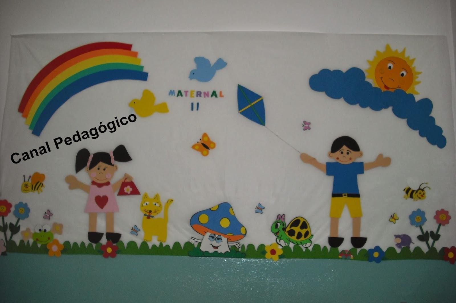 Decoracao De Sala Da Aula ~ decoracao de sala maternalCANAL PEDAGÓGICO decoração sala de aula