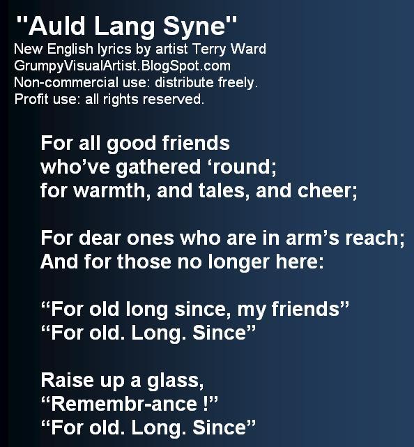 Auld Lang Syne (with lyrics) - YouTube