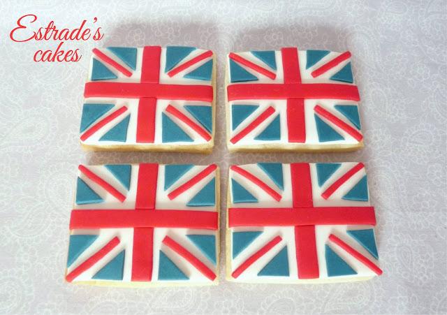 galletas de bandera de Gran Bretaña 2