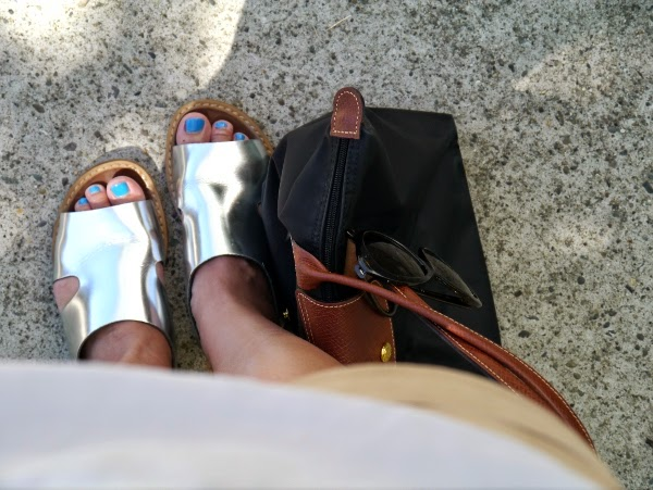 Marni x H&M silver sandals