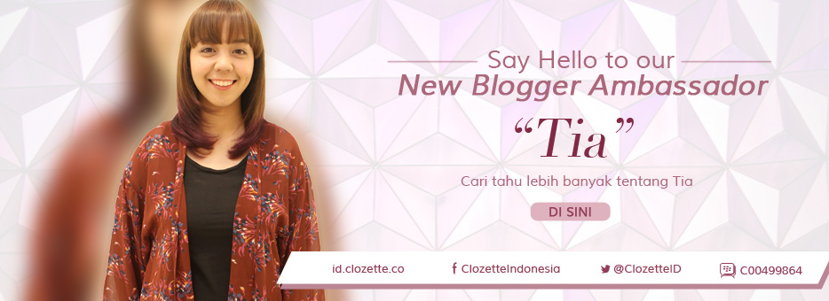 utoTIA as Clozette Indonesia Blogger Ambassador