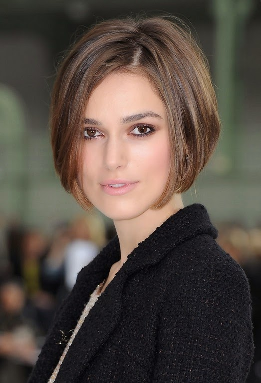 Keira Knightley Short Bob Hairstyle