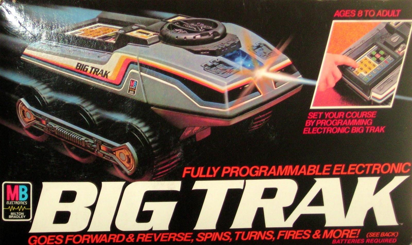 80 S Milton Bradley Toys : Milton bradley big trak brand new factory sealed ebay