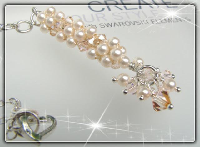 Swarovski Coleman Beaded Dangle Necklace