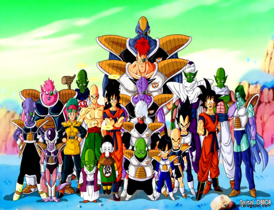 800x600px 949367 Dragon Ball Z Characters 16244 KB  1908
