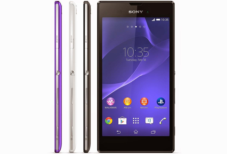 Harga dan Spesifikasi Hp Sony Xperia T3 Android