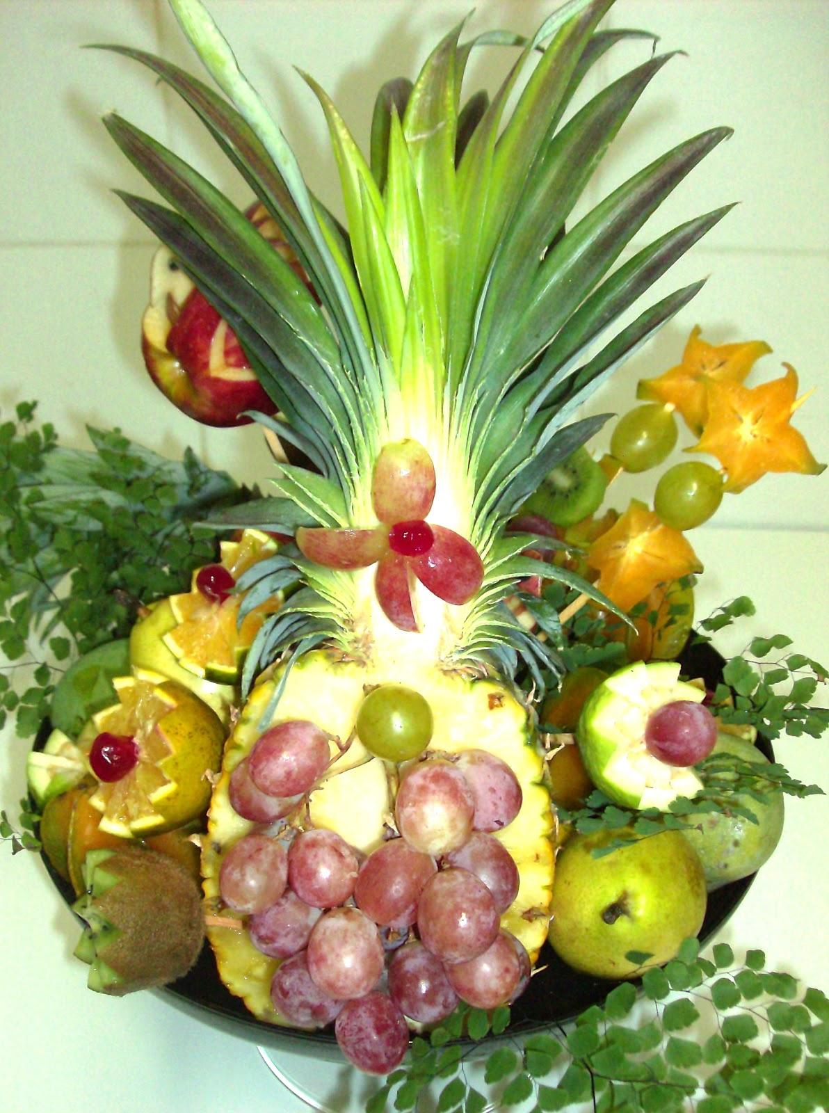 Waldir Buffet ARRANJOS COM FRUTAS # Decoração De Frutas Para Mesa