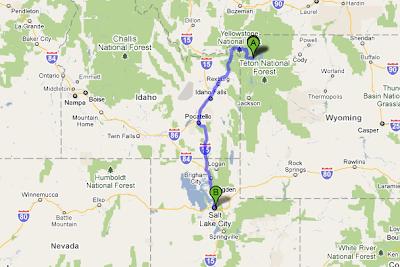Captive Creativity Road Trip Day 2  Yellowstone