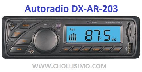 Autoradio DX-AR-203