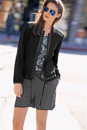 Leather bomber jacket next – Your jacket photo blog