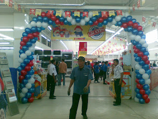 dekorasi balon CARREFOUR 2