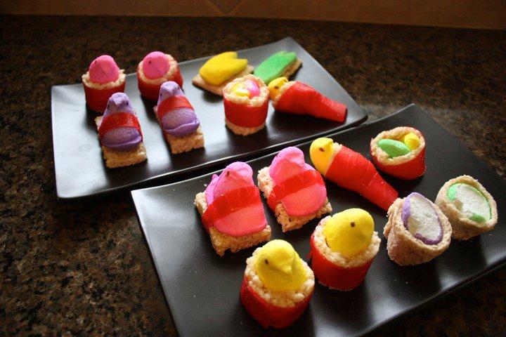 sushi vegetable sushi vegetable sushi how to make peepshi peeps sushi ...