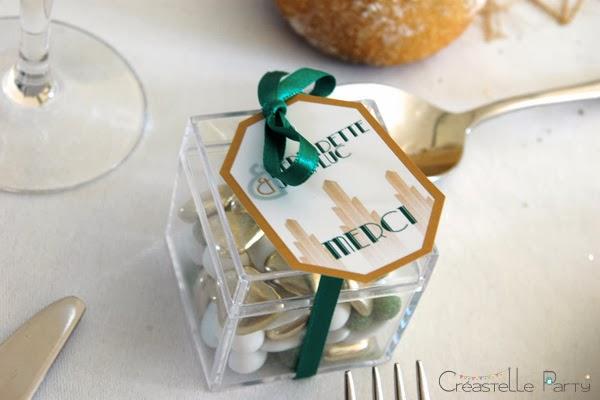 boîte cadeau à bonbons