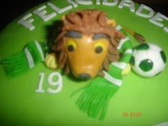 Bolo de Aniversário decorado do Sporting