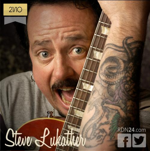 21 de octubre | Steve Lukather - @stevelukather | Info + vídeos