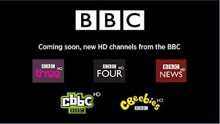 New HD channels from the BBC