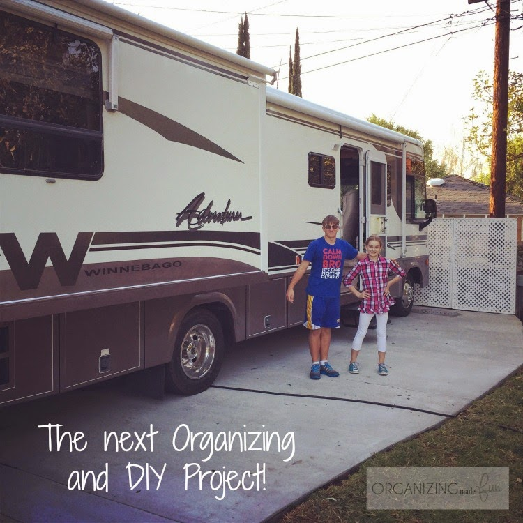 "Our ""new to us"" RV - another DIY and organizing project :: OrganizingMadeFun.com"