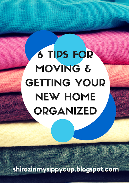 6 Tips for Moving and Getting Your New Home Organized