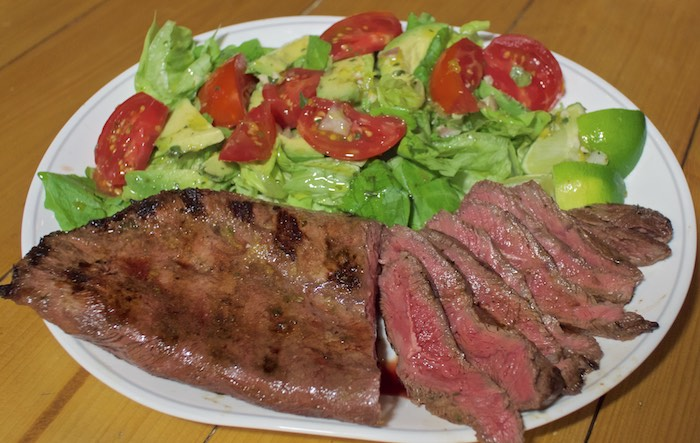 Food Hunter's Guide to Cuisine: Cuban Inspired Flank Steak Salad