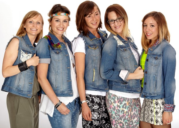 Blogueuses mode en vestes en jean Kiabi