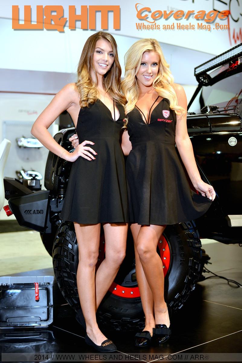 w u0026hm    wheels and heels magazine  best of sema models 2014 series  1  ashley harrell  jessica
