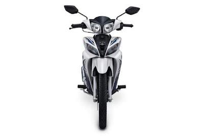 Tampak Depan New Jupiter Z White Motor Yamaha Baru