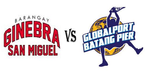 Watch PBA Brgy Ginebra San Miguel vs Globalport Batang Pier